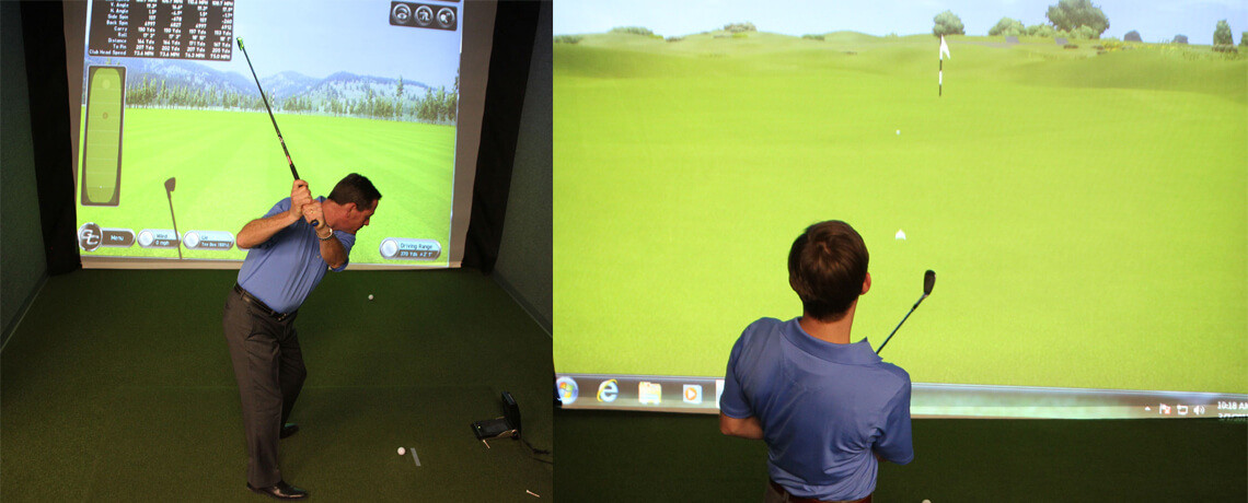 Golf Simulation <br/>and Practice Bays