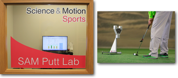 SAM Putt Lab - Ken Schall Golf Performance Studio