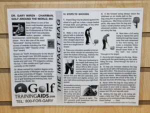 Ken Schall Golf Training Aids