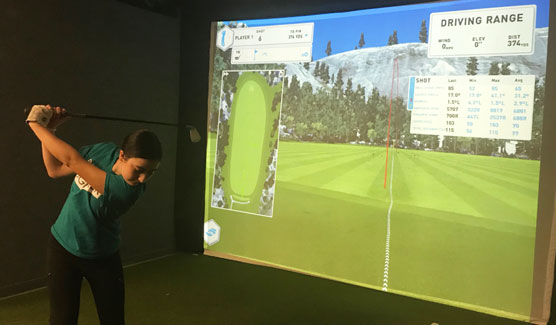 Ken Schall Golf - Simulation Bay