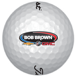 Put your company's logo on golf balls!