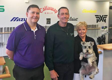 Jon Cornish, Ken & Connie Schall - Ken Schall Golf